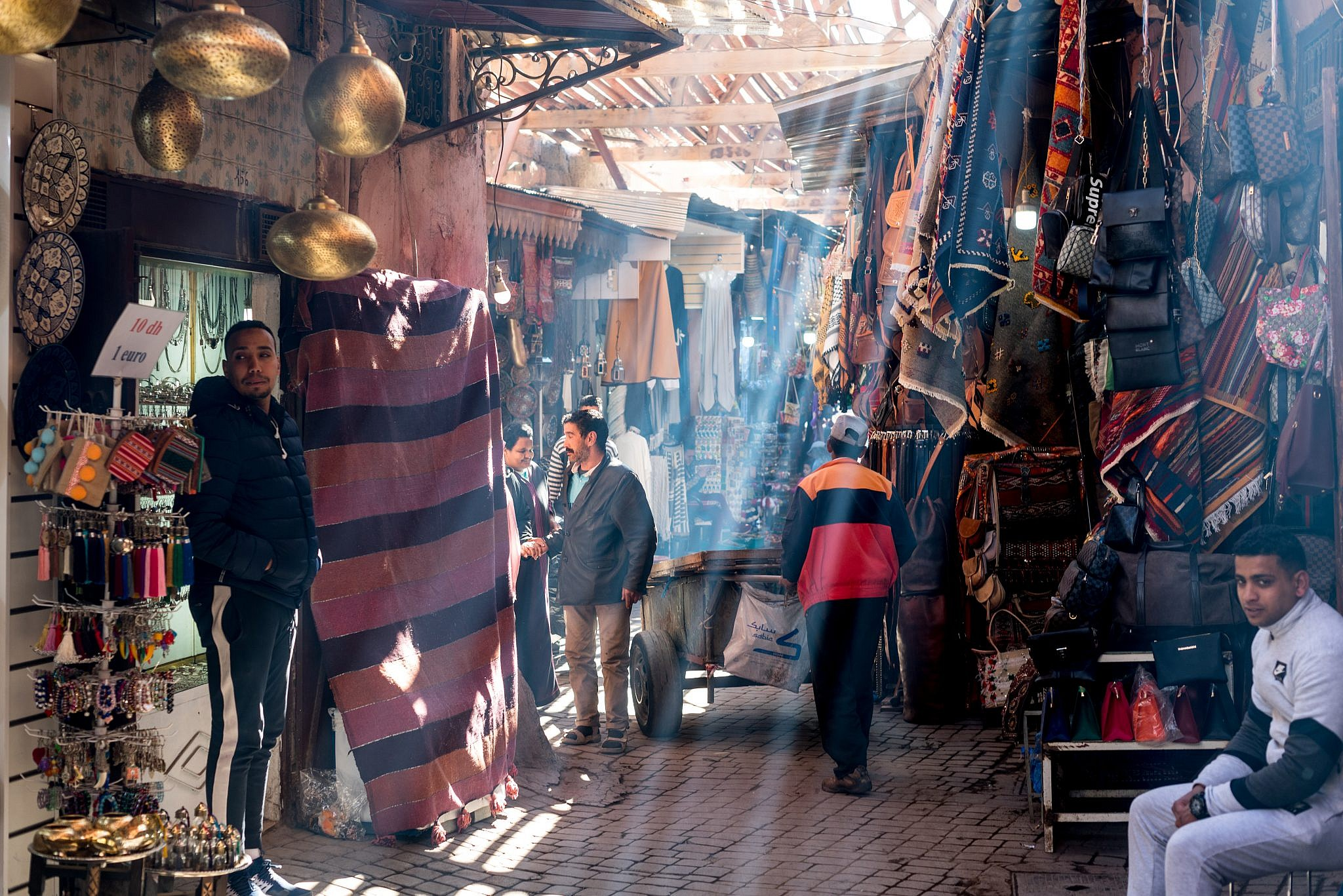 Daylight in the souk, 2
