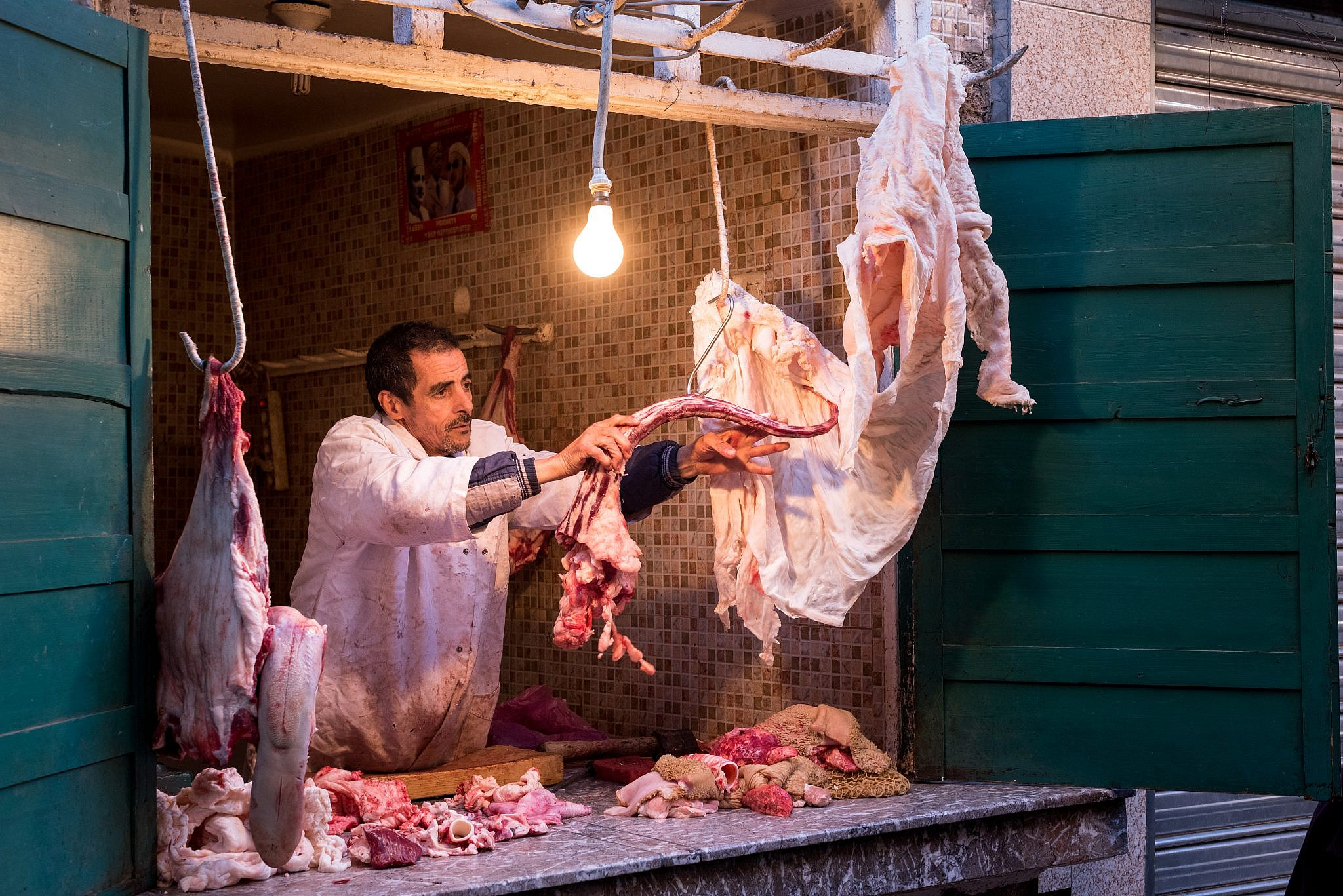 Moroccan butcher